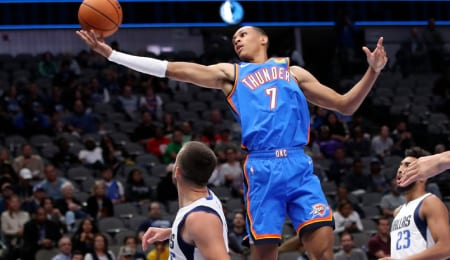 Darius Bazley was a steal off the wire this season for the Oklahoma City Thunder.