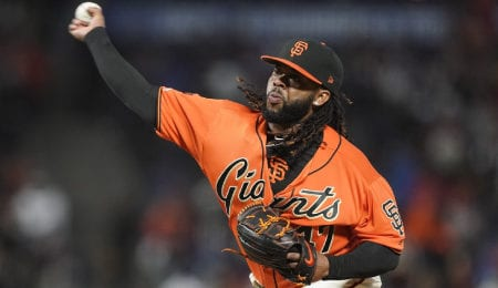 JohnnyCueto has been healthy and effective for the San Francisco Giants.