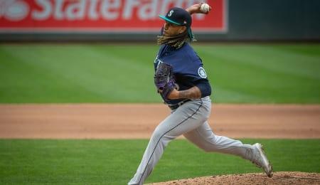 Keynan Middleton is flashing closer stuff for the Seattle Mariners,