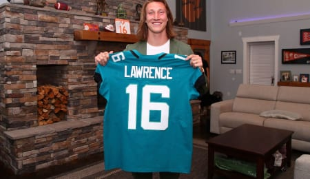 Trevor Lawrence is charged with turning around the Jacksonville Jaguars.