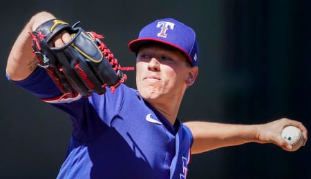 Kolby Allard is performing well in the Texas Rangers rotation.