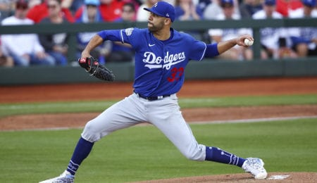 David Price has moved into the rotation for the Los Angeles Dodgers.