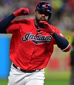 Franmil Reyes is supplying power for the Cleveland Indians.