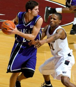 Nick Kovacevich played college basketball with a few different schools.