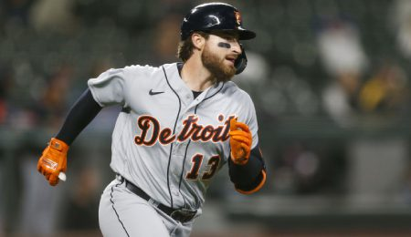 Eric Haase had a nice season for the Detroit Tigers.